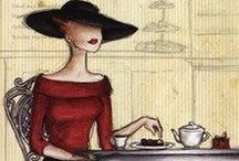Tantalizing Tea and Art / Photographs, illustrations, paintings, etc., that inspire me and  make me smile!