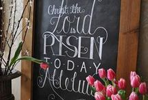 Celebrating Easter / Entertaining ideas, decor, tablescapes, and recipes to help make your Easter celebration perfect!