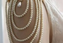 Tantalizing Tea In Pearls / Pretty in Pearls. Fashion, decorating, tea parties...