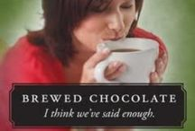 Brewed Chocolate / Brewed chocolate is one of the healthiest all-natural drinks on the planet. One super ingredient - the cocoa bean. Brewed like coffee. All the healthy benefits of dark chocolate - without sugar or caffeine. Vegan. Great in combinations like espresso drinks, frappes, hot chocolates.