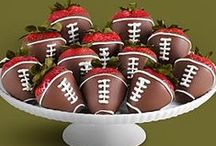 Sports Chocolates / Chocolate is game for any sport. Celebrate the team or reward the coach for a season well done. Chocolate favors and lollies will make even last place seem sweet!