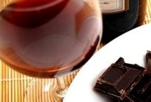 Wine & Chocolate / Any meal can be wonderful if finished with wine AND chocolate.