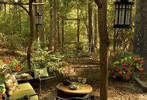 Garden Sanctuary / Medicine wheels, herb gardens ...