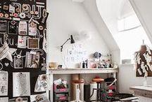 Studio Love ✖ / Studio & office inspiration. A girl can dream.