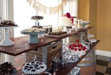 Weddings / Dessert tables, wedding favors, gifts for out-of-town guests and the wedding party - personalized for the special day