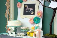 Laura Emilia / Baby Shower Ideas / Ideas para el baby shower de mi futura nena Laura Emilia.