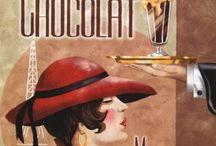 Vintage Chocolate Posters