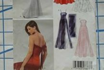 Sewing patterns I own / Pictures of the various sewing patterns that I own
