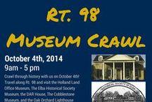 Rt 98 Museum Crawl