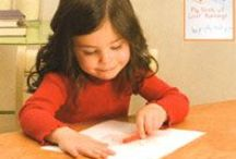 Grow Your Reader: WRITE / Writing with children helps them learn that letters and words stand for real life things—that print has meaning. Here are some tips for growing your reader through writing.