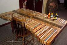 muebles palets / Bricolaje solo con palets