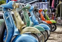Scooters - Stella, Vespa and more / Scooters, sidecars, new and vintage / by Kyle Zutz