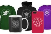 New CoA Designs - Tshirt, hoodies, mugs, phone cases / The official Witchcraft and Wicca designs from Children of Artemis an international non-profit membership organisation based in the UK. Support our community and show your true colours :D Different colours and style of garments available on the teechip website :)