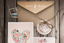 Our wedding invitations. / Design and print for life's events.