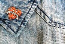 Pins, Patches, Badges & Brooches