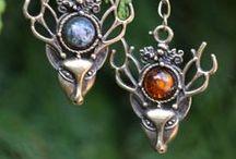 Elves & woodland creatures jewels