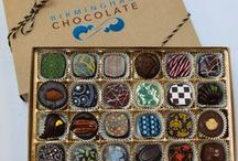 """B: Boxed Assortments / Select a gift and """"Visit"""" our website to purchase."""