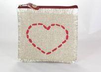 Srdcové záležitosti / kabelky, taštičky a doplnky tvorené z lásky vhodné napr ku dňu matiek, na Valentína, alebo len tak z lásky