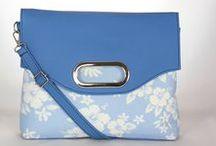 Nebíčková... / kabelky jasnej modrej farby