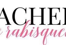 Achei e rabisquei / Meu blog amado