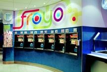 Yogurty's Froyo store design
