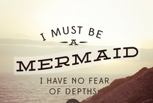 Mermaids ♡ / instagram: minagolddesign