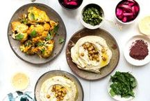 Middle Eastern Cooking / Tracking down delicious Middle Eastern and Middle Eastern recipes across the web! Love all things with dates, honey, sesame seeds, parsley, sumac, chickpeas to name just a few staple ingredients.