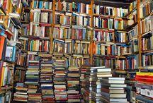 kirjahyllyjä / bookshelves