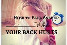Back Health / Information to keep your back feeling great!