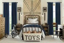 Boys' Bedrooms / Creating and decorating Boys' Bedrooms from toddler to adulthood