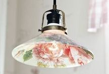 Lampshades / Creative ways to decorate lamps and shades