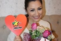 Surprises for Celebrities / Roflora campaign in partnership with PRO FM Romania