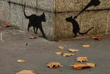 art is everywhere / Not only street art