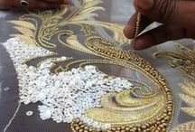 embroidered beads / The art and beauty of embroidered bead