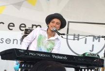 2015.07.25 / 『Hand Made In Japan Fes 2015』東京ビッグサイト Schroeder-Headz [ソロ] × 近藤康平