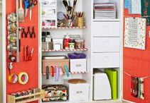 Craft Rooms and Spaces / Craft, sewing, and other organized work spaces