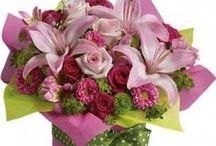 Newborn Baby / Flowers for mothers celebraiting new family member