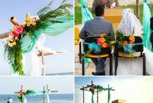 50 shades of Turquoise ( Beach wedding) / Turquoise/Teal/Mint/Aqua blue