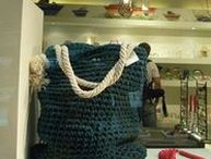 My handmade bags / Handmade crocheted bags and clutches