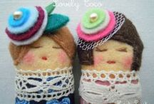 Broches SaritaSopita / Felt broch made with love Broches únicos, realizados a mano y con mimo...