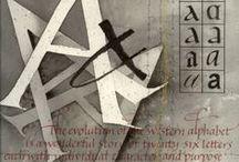 Calligrafia / Tipográfia / Logo / Vizuális archívuma egy magamféle laikusnak, aki csak rajong a tervezőgrafika ezen ága iránt