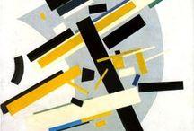 Szuprematizmus / Kazimir Severinovich Malevich  lengyel származásu, orosz-szovjet festőművész / a kubizmustól a szuprematizmusig