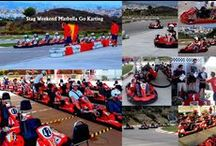 GO KARTING IN MARBELLA / Go Karting Marbella, experience a thrill like no other! Speed-lovers, be prepared for our Go Karting Grand Prix Marbella track attraction, a different Go Karting experience. Race the track with our unique, competition Go karts, which have a 270 cc engine and can reach speeds of up to 45  mph!