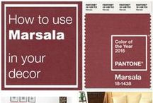 Marsala: 2015 #ColoroftheYear