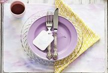 Table Tableaux / Inspiration for creating your perfect dining environment.