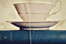 """Book Lovers / """"You can never get a cup of tea large enough or a book long enough to suit me."""" C. S. Lewis"""