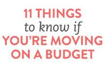 Moving Tips / Things to keep in mind when you have to move to a new home.