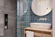 bathroom | patterns & textures