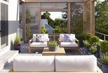 terrace & balcony | wooden cosiness