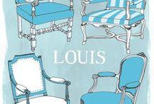 J'adore! Louis XV...XVI / Clásico y elegante se ha convertido en una pieza atemporal!